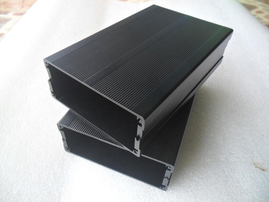กล่องอลูมิเนียมสีดำ ขนาด 40x97x150 มม.