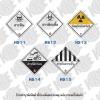 ป้ายขนส่งสารเคมีในอุตสาหกรรม HS11-HS15