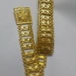 acc_113 เข็มขัดโลหะสีทอง ยาว 45 นิ้ว ราคา 280 บาท