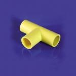 Tee Coupling ข้อต่อสามทาง สีเหลือง