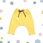 กางเกงก้นป่อง Super Soft สีเหลือง