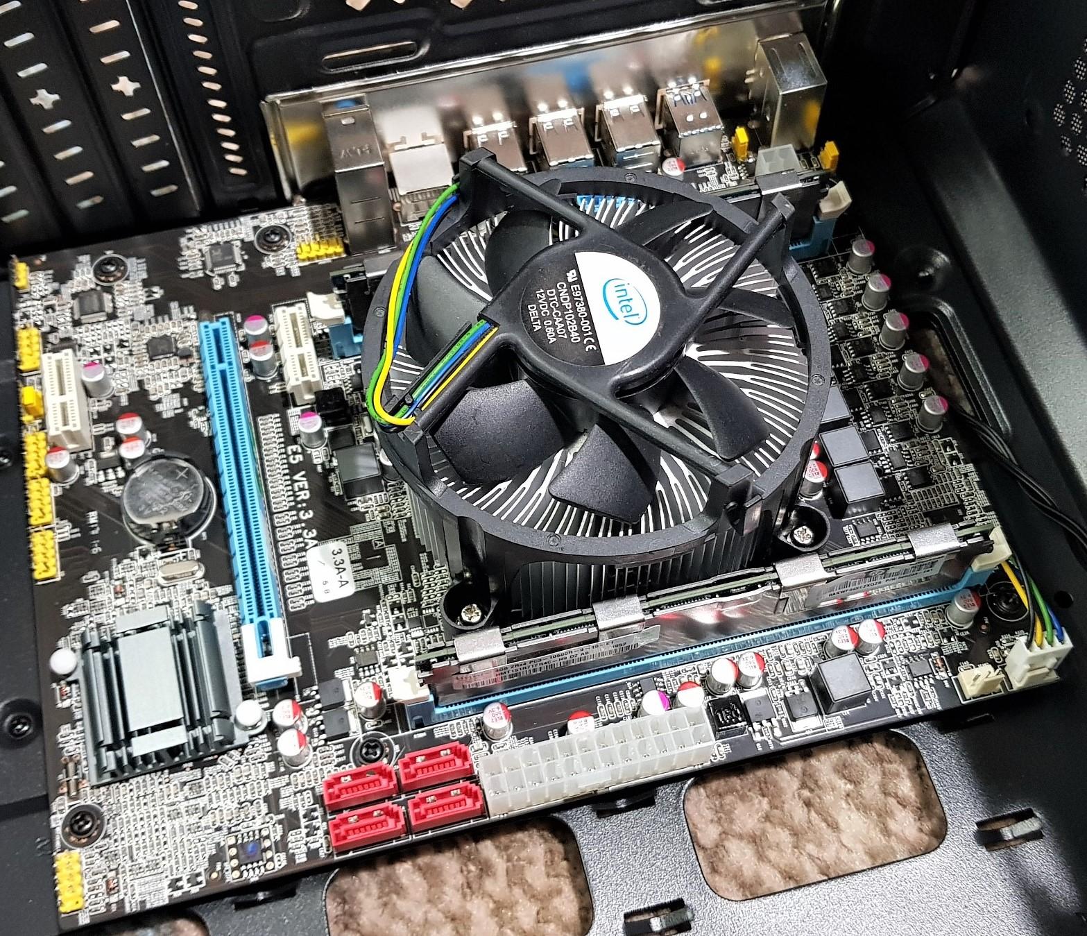 Xeon E5-2660 2 2Ghz 8 Core 16 Thread / Intel X79 / 8GB / Intel Stock  Heatsink